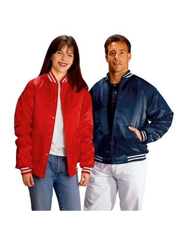 Satin Baseball Jacket (Quilt Lined)